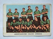 VECCHIA FIGURINA RASA calcio football 1961 VENEZIA squadra