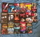 Big VHS Horror Lot Gore B-Movie 80s 90s Romero Troma Halloween Media FREE SHIP