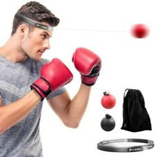 Boxing Reflex Ball Headband + Speed Ball + String Boxer Pro Boxing Training