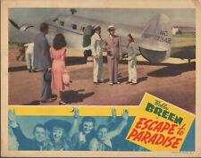 Escape to Paradise (1939) 11x14 Lobby Card #nn