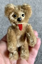 New ListingAntique Schuco Janus Mohair Two Faced Yes/No Collectable Teddy Bear 4� C1954