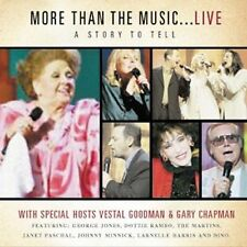 """VESTAL GOODMAN, CD """"A STORY TO TELL"""" """"MORE THAN THE MUSIC LIVE"""" NEW SEALED"""