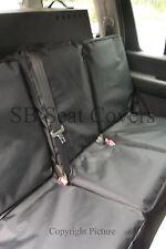 NISSAN PATHFINDER CAR SEAT COVERS- WATERPROOF BLACK - SEMI CUSTOM FIT
