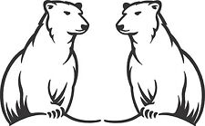 Bundy Bears 2 x 200 x 160 ea sticker Quality Stickers UV protected