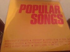 "CLIVE ROBERTSON - POPULAR SONGS 12"" LP SYNTH MINIMAL"