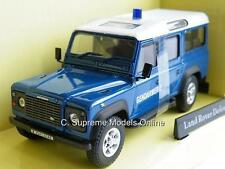 POLICE LAND ROVER DEFENDER GENDARMERIE 1/43 SCALE MODEL ABREX EXAMPLE R0154X{:}