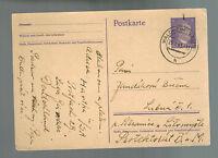 1943 Waldheim Germany Hartha Arbeitslager Slave Labor Camp Postcard Cover