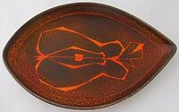 Poole Pottery Aegean Shape 91 Dish - Stylised Design