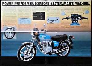 Honda CB400T Twin Super Sports Large Colour Poster Brochure Original