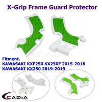 MX X-Grip Frame Guard Protector Covers For Kawaski KXF250 KX250F 15-18 KX250 19
