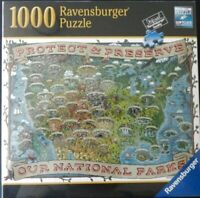 Ravensburger Protect & Preserve USA National Parks 1000 PC Puzzle New Fast Ship