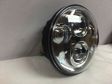 "Chrome - 5 3/4"" Daymaker LED Light Bulb Headlight Harley Dyna"