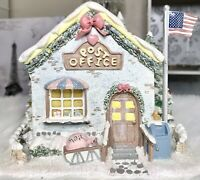 Precious Moments 2001 Christmas Hawthorne Village Holly-Day Post Office 79390