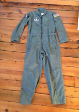 Air Force Green Meta-Aramid Coveralls Flyers Flight Suit Fire Resistant 40 Short