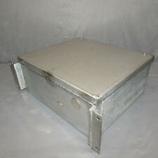 Stainless Steel Electrical Enclosure Junction Box 14x12x6 Withback Plate