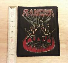 RANGER woven Patch Razor Exciter Agent Steel Whiplash Raven Enforcer Skull Fist