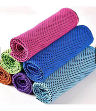 New COOL TOWEL Super Cooling Towel Sports Yoga Running Jogging Gym-Gray