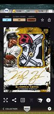 2021 Topps Bunt DIGITAL Inception ICONIC! Gold Signature Patch Ke'Bryan Hayes RC