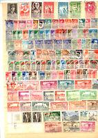 122 timbres colonies : Algérie avant indépendance