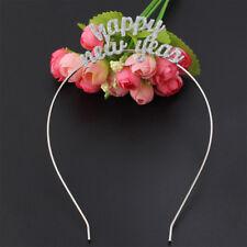 1pcs Happy New Year Tiara Crown Headband Shimmering Powder Home Decorate Gift