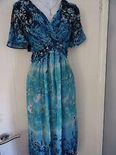LADIES   M & S  PER UNA  STUNNING  SUMMER    DRESS  SIZE  18