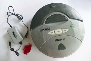 iRobot Roomba 4150 Robotic Vacuum Cleaner - New battery- Needs Gearbox