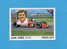 SUPERSPORT 1986-PANINI 86-Figurina n.41-JONES-FORCE-LOLA-AUTOMOBILISMO-Recuperat