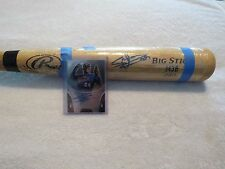 MIGUEL SANO~SUPERSTAR TWINS~BASEBALL~BAT~CARD~SIGNED~AUTHENTIC~GUARANTEE