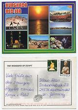 21175 - Ägypten - Hurghada - Ansichtskarte, gelaufen, ungestempelt