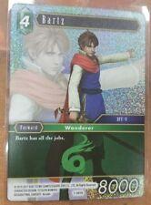 1 x FINAL FANTASY TRADING CARD GAME TCG BARTZ 1-081R HOLO FOIL PROMO CARD MINT