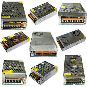 Dc 12V LED Power Supply Trafo Switching Adapter Power 36W - 360W 3A 33A 230V