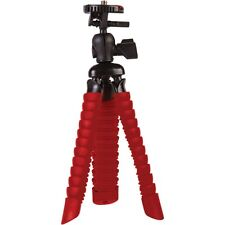 Vivitar VIV-SP-7-RED Small Rubberized Spider Tripod Gorilla Pod (UK Stock) BNIB