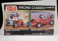 Monogram Circle Track Racing Classics Kurtis Kraft Super Modified 1/25 Combo Kit