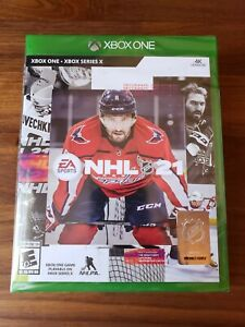 NHL 21 - Xbox One (Brand New & Sealed) - XB1 Newest Hockey Game