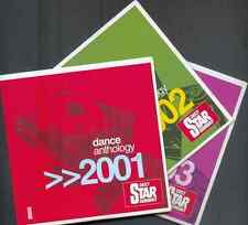 DANCE ANTHOLOGY 2001, 2002 & 2003 - UK PROMO 3 CD SET - 45 TRACKS