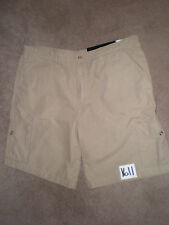 (Sz 44) NWT Rocky Outdoor Gear BUZZ OFF Insect Mens Tan Cargo Shorts 100% Cotton