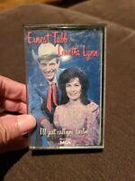 Loretta Lynn Ernest Tubb: I'll Just Call You Darlin' - Audio Cassette Tape 1989