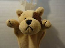 """Ganz Page Pals 2 Dogs Brown, White Plush Bookmarks Nwt 10"""" long Bogo"""