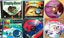 Lot 11: 6 Cool Vntg Games: Arcade, Action, Adventure, Strategy, Skill, 6 CD-ROMs