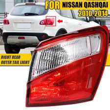 12V Right Side Rear Outer Tail LED Brake Light Lamp For Nissan Qashqai 2010-2014