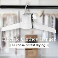 Cintre électrique séchage vêtement rapide sechage chaud ou froid sèche linge New