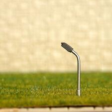 12 x Z gauge Model Train Lamps Railway Lamp posts Led Street Lights YD25W