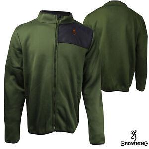 Browning Tintic Fleece Jacket (L)- Rifle Green