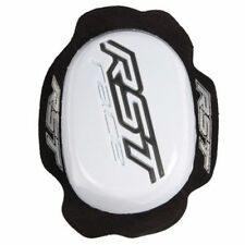 RST 1921 Knee Sliders TPU For RST Motorcycle Suits & Leathers - WHITE