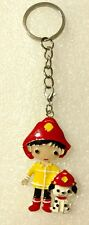 Paw Patrol Marshall Firedog Ryder Keychain Zipper Pull Book Bag Charm Key Ring