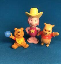 Vintage Disney Winnie The Pooh Figures Piglet Pvc vinyl Figure Lot
