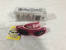 NEW!! Baby Banz Sunglasses 0 - 2 Years Old Wrap Around 100% UV Protection PINK