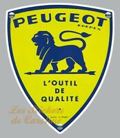 STICKER LOGO PEUGEOT FRERES LION AUTOCOLLANT GARAGE VOITURE  9cm PA373