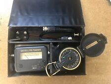 SATELLITE FINDER KIT With SIGNAL METER + COMPASS + 22K BATTERY SUPPLY - DISH LNB