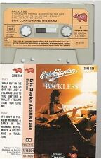 ERIC CLAPTON cassette K7 tape BACKLESS france french 3215 034 paper label papier